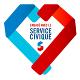 theme radio logo partenaire association service civique
